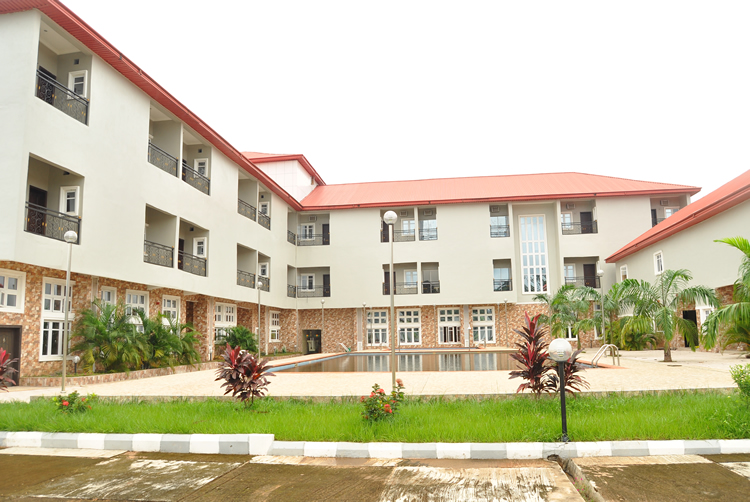 The Nnewi Hotel Side View